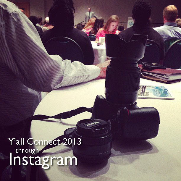 Y'all Connect 2013 through Instagram