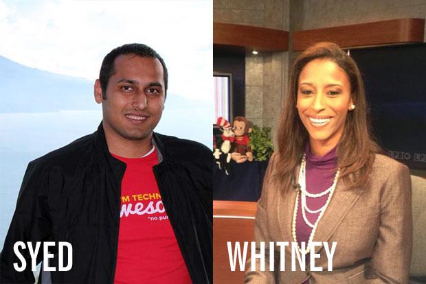 Syed Balkhi, Whitney Breaux