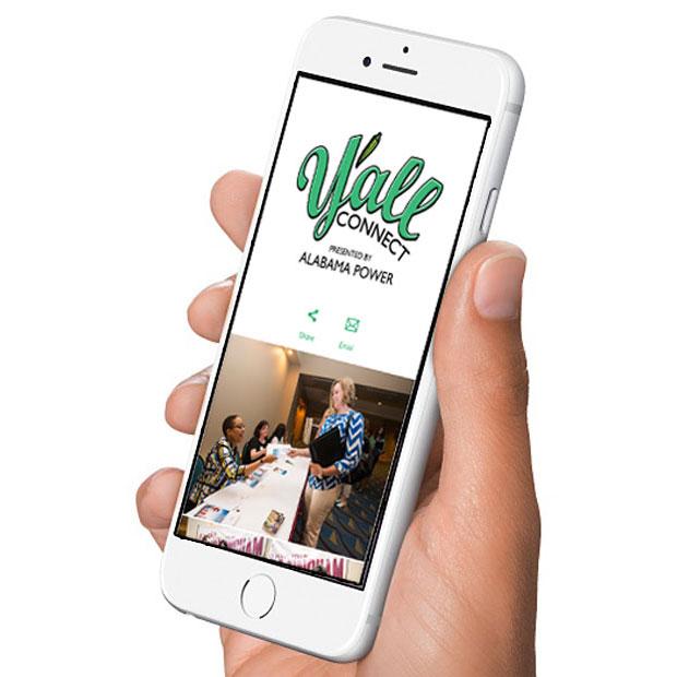 Y'all Connect app