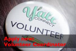 Apply now: Volunteer Coordinator