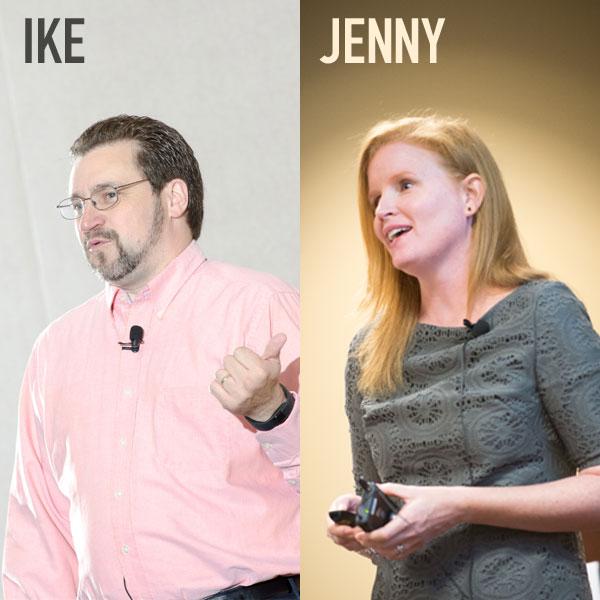 Ike Pigott, Jenny Schmitt