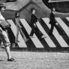 pedestrian mural