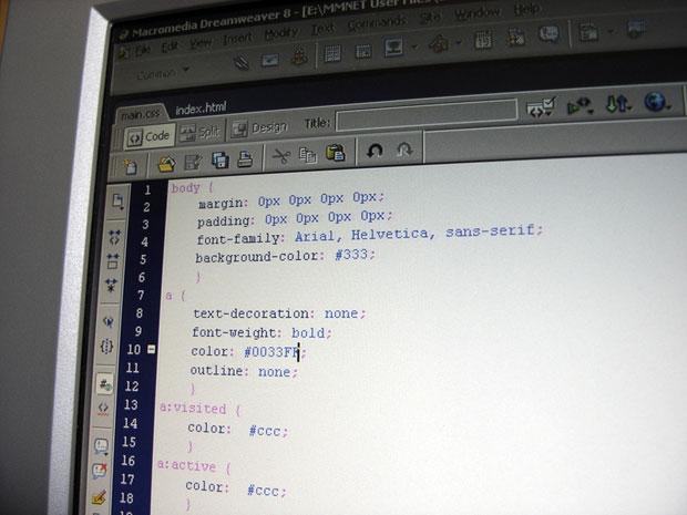 CSS screen
