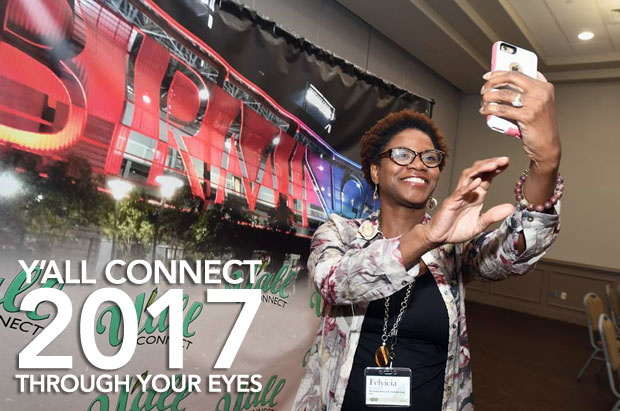 Y'all Connect 2017 through your eyes