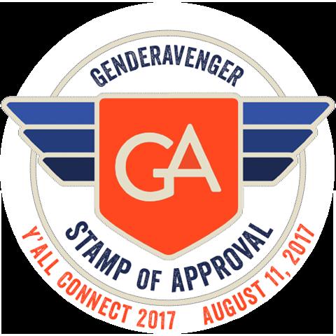 GenderAvenger Stamp of Approval