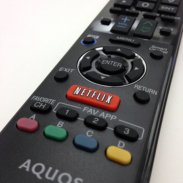 remote - Netflix button